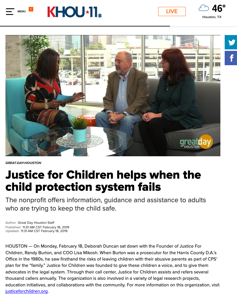 New Ways To Protect Kids From Abuse And >> Homepage Justice For Children